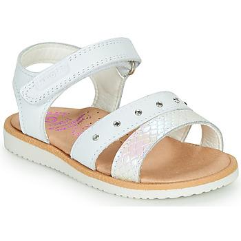 Buty Dziewczynka Sandały Pablosky  Biały