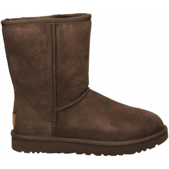 Buty Damskie Kozaki UGG CLASSIC SHORT II chocolate-marrone