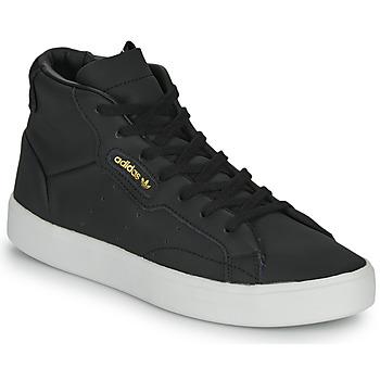 Buty Damskie Trampki wysokie adidas Originals adidas SLEEK MID W Czarny