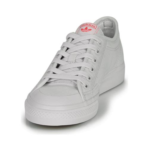 Adidas Originals Nizza Trefoil W Biały - Bezpłatna Dostawa- Buty Trampki Niskie Damskie 24720 Najniższa Cena