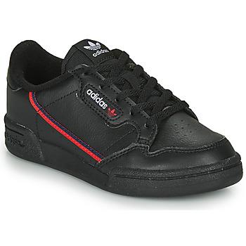 Buty Dziecko Trampki niskie adidas Originals CONTINENTAL 80 C Czarny