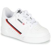Buty Dziecko Trampki niskie adidas Originals CONTINENTAL 80 I Biały