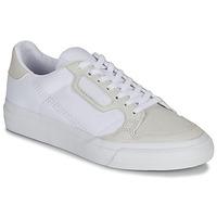 Buty Dziecko Trampki niskie adidas Originals CONTINENTAL VULC J Biały / Beżowy
