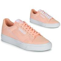 Buty Dziewczynka Trampki niskie adidas Originals CONTINENTAL VULC J Różowy