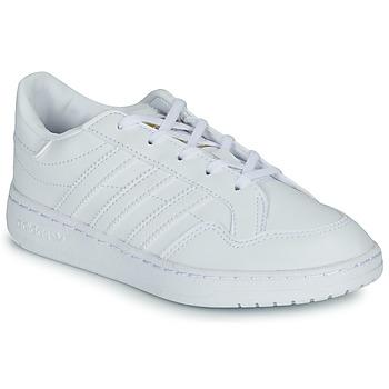 Buty Dziecko Trampki niskie adidas Originals Novice C Biały