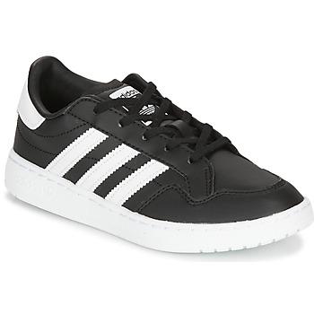 Buty Dziecko Trampki niskie adidas Originals Novice C Czarny / Biały