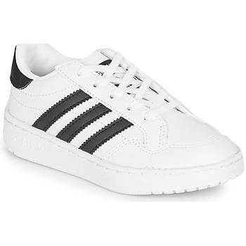 Buty Dziecko Trampki niskie adidas Originals Novice C Biały / Czarny