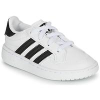 Buty Dziecko Trampki niskie adidas Originals NOVICE EL I Biały / Czarny