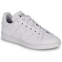 Buty Dziecko Trampki niskie adidas Originals STAN SMITH J Biały