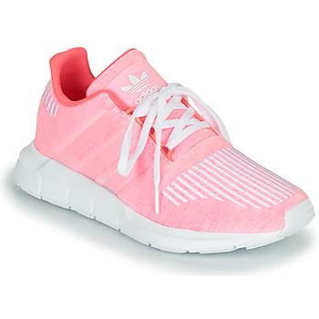 Buty Dziewczynka Trampki niskie adidas Originals SWIFT RUN J Różowy