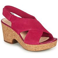 Buty Damskie Sandały Clarks MARITSA LARA Różowy