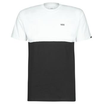 tekstylia Męskie T-shirty z krótkim rękawem Vans COLORBLOCK TEE Czarny / Biały