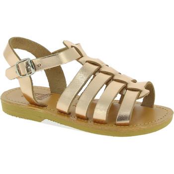 Buty Dziewczynka Sandały Attica Sandals PERSEPHONE CALF GOLD-PINK Złoty
