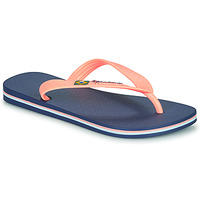 Buty Dziewczynka Japonki Ipanema CLAS BRASIL II Niebieski / Pomarańczowy