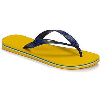 Buty Męskie Japonki Ipanema CLAS BRASIL II Żółty / Niebieski