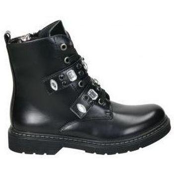 Buty Dziewczynka Buty za kostkę Asso AG3702 Noir