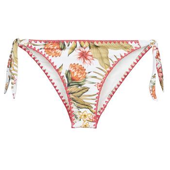 tekstylia Damskie Bikini: góry lub doły osobno Banana Moon DIMKA LAHAINA Biały / Pomarańczowy