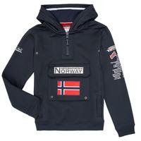 tekstylia Chłopiec Bluzy Geographical Norway GYMCLASS Marine