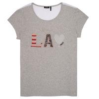 tekstylia Dziewczynka T-shirty z krótkim rękawem Ikks ZOKO Szary