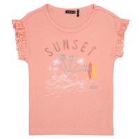 tekstylia Dziewczynka T-shirty z krótkim rękawem Ikks POLIAK Pomarańczowy