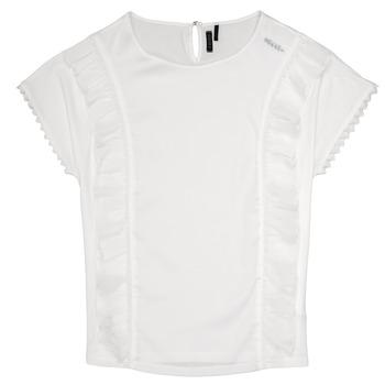 tekstylia Dziewczynka Topy / Bluzki Ikks CHLOE Biały