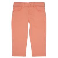 tekstylia Dziewczynka Spodnie z pięcioma kieszeniami Ikks CARLOTTA Pomarańczowy