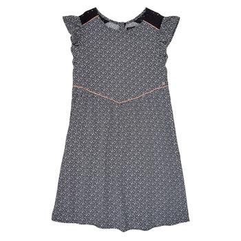 tekstylia Dziewczynka Sukienki krótkie Ikks ZOE Czarny
