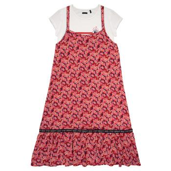tekstylia Dziewczynka Sukienki krótkie Ikks DANIA Wielokolorowy