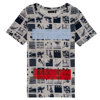 tekstylia Chłopiec T-shirty z krótkim rękawem Ikks YVES Beżowy
