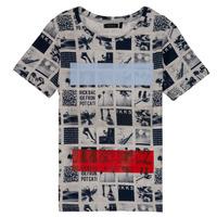 tekstylia Chłopiec T-shirty z krótkim rękawem Ikks JULIEN Beżowy