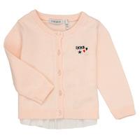 tekstylia Dziewczynka Swetry rozpinane / Kardigany Ikks ADIL Różowy