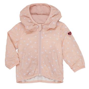 tekstylia Dziewczynka Kurtki krótkie Ikks LOLINA Różowy