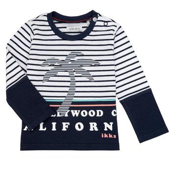 tekstylia Chłopiec T-shirty z długim rękawem Ikks LAURA Wielokolorowy
