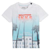 tekstylia Chłopiec T-shirty z krótkim rękawem Ikks JOSIANE Biały