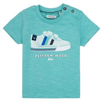 tekstylia Chłopiec T-shirty z krótkim rękawem Ikks MARIA Turkus