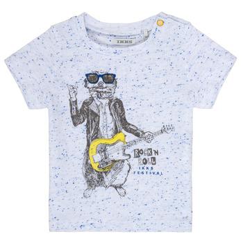 tekstylia Chłopiec T-shirty z krótkim rękawem Ikks MARIO Biały