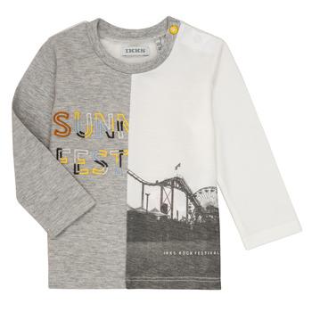 tekstylia Chłopiec T-shirty z długim rękawem Ikks MAELINO Szary