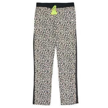 tekstylia Dziewczynka Spodnie z lejącej tkaniny / Alladynki Kaporal JULIA Zielony