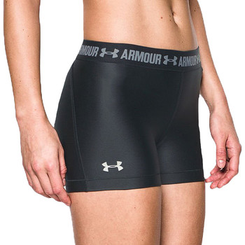 tekstylia Damskie Szorty i Bermudy Under Armour Heatgear Short 1297899-001 Czarne