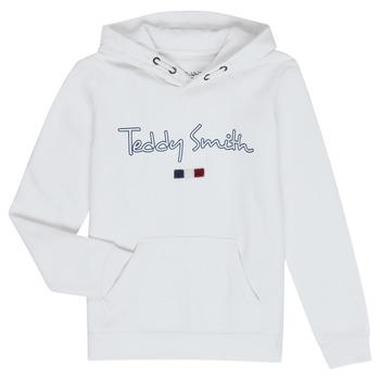 tekstylia Chłopiec Bluzy Teddy Smith SEVEN Biały