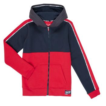 tekstylia Chłopiec Bluzy Teddy Smith AMY Czerwony / Marine
