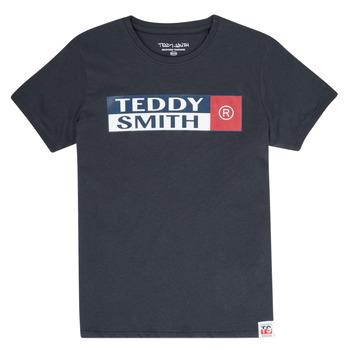 tekstylia Chłopiec T-shirty z krótkim rękawem Teddy Smith TOZO Marine