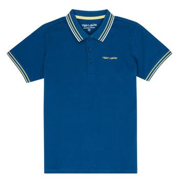 tekstylia Chłopiec Koszulki polo z krótkim rękawem Teddy Smith PASY Marine