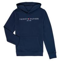 tekstylia Chłopiec Bluzy Tommy Hilfiger KB0KB05673 Marine