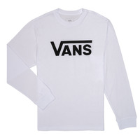 tekstylia Chłopiec T-shirty z długim rękawem Vans BY VANS CLASSIC LS Biały