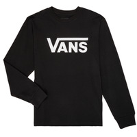 tekstylia Chłopiec T-shirty z długim rękawem Vans BY VANS CLASSIC LS Czarny