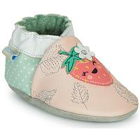 Buty Dziewczynka Obuwie domowe Robeez FRUIT'S PARTY Różowy / Zielony