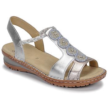 Buty Damskie Sandały Ara HAWAII Biały / Srebrny