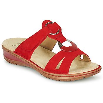Buty Damskie Sandały Ara HAWAII Czerwony