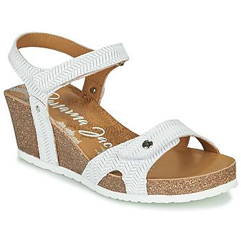Buty Damskie Sandały Panama Jack JULIA Biały